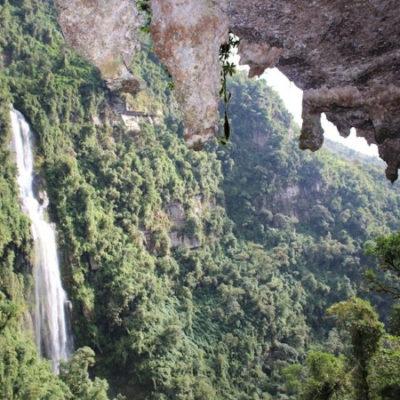 plan para pareja bogota a cascada La Chorrera 2