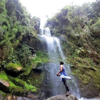plan para pareja bogota a cascada La Chorrera