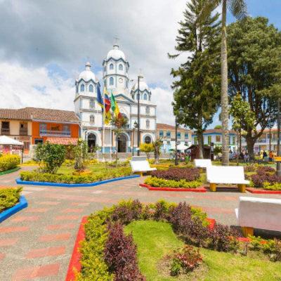 plaza filandia colombia